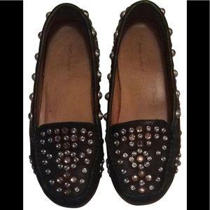 ISABEL MARANT black leather loafers Moccasins  7